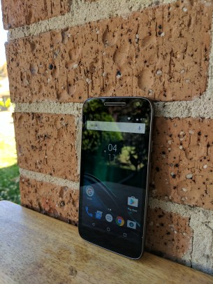Front of Moto G4 Play