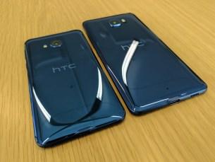 Size comparison: U Play (left), U Ultra (right)