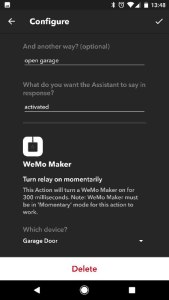 With Google Assistant, IFTTT and Belkin's WeMo, I've