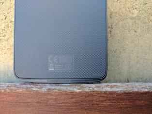 BlackBerry DTEK50 - rear