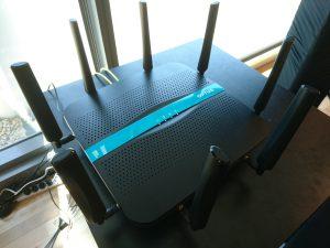 Optus 4.5G trial site modem