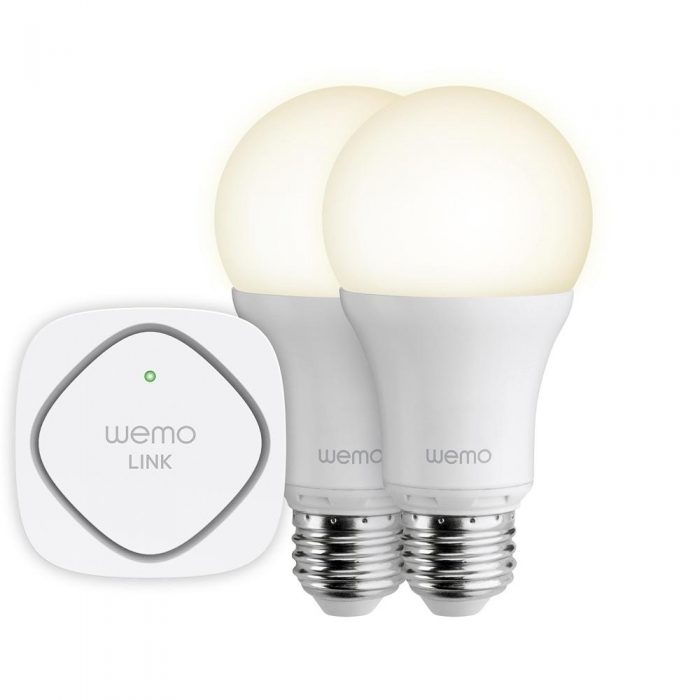 Belkin Discontinues Smart IoT Wemo LED Bulbs LED Starter Kit