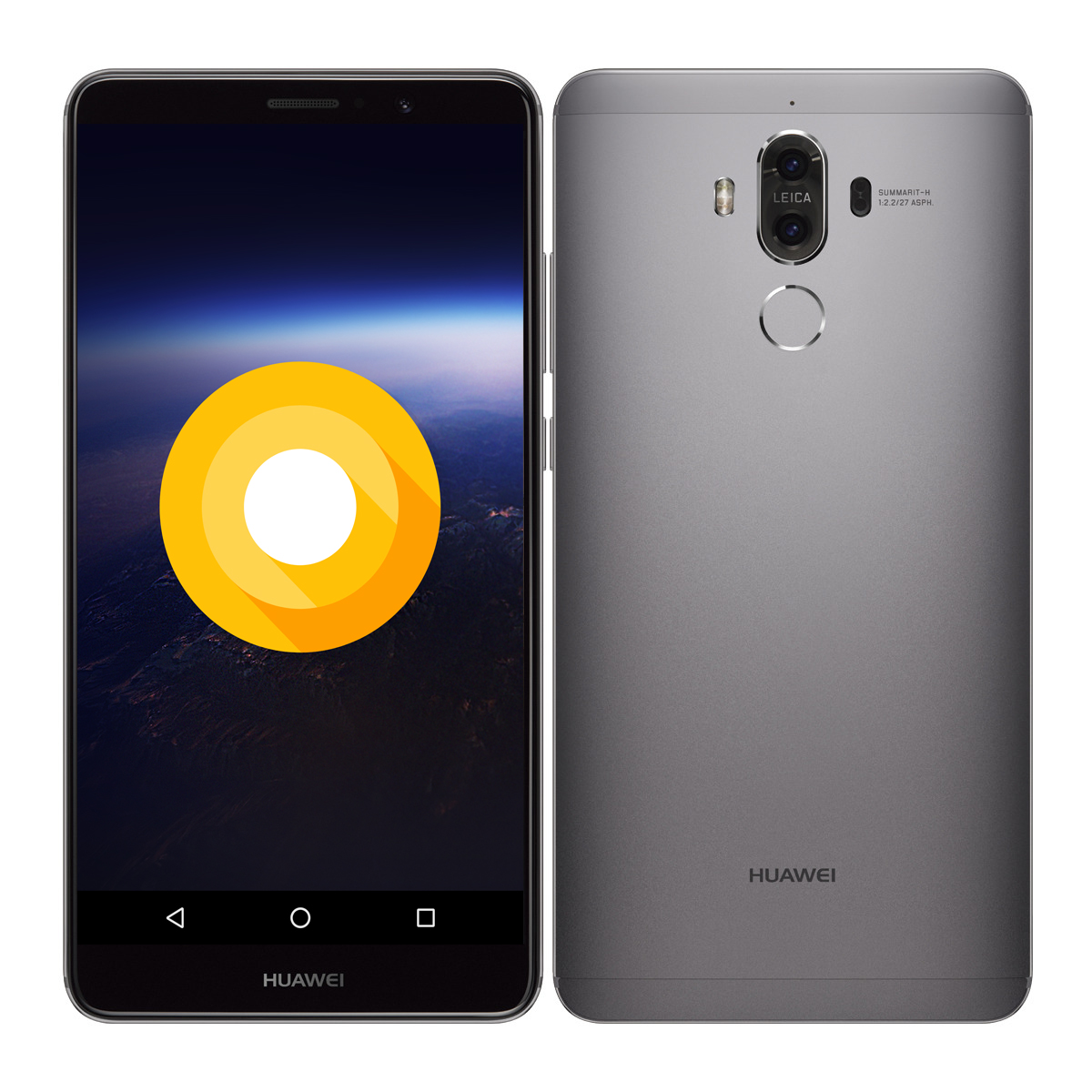 Pictures Of Huawei Mate 9 Running Android O Spotted Online