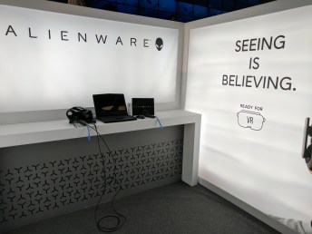 Alienware Booth
