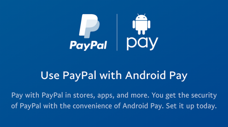 Android Pay's support for PayPal starts rolling out