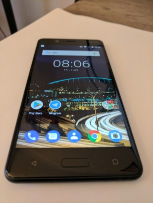 Front of Nokia 5