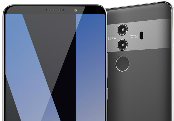 Huawei Mate 10 Pro Details Leaked