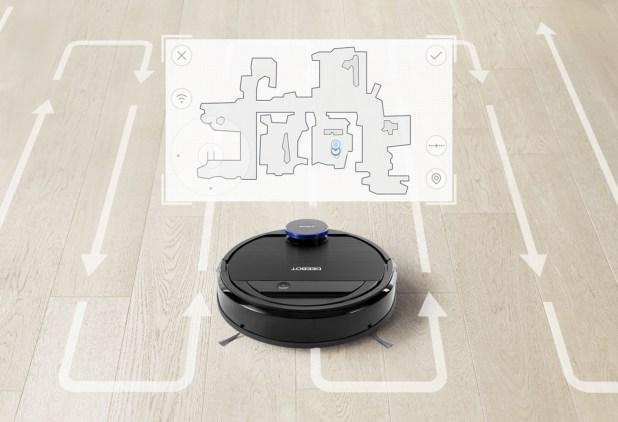 Google Home Ready Ecovacs Deebot Ozmo 930 Robot Vacuum