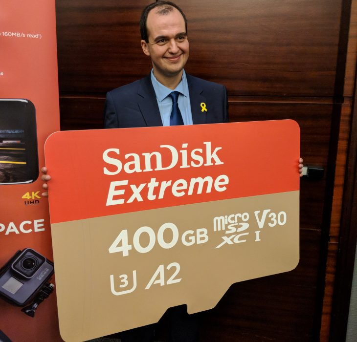 Western Digital Announces World's Fastest 400GB SanDisk Extreme microSD card