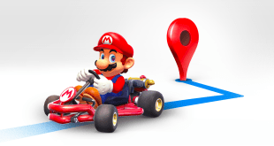 Google Maps adds an extra dose of Mario for Mar10 day (March 10)