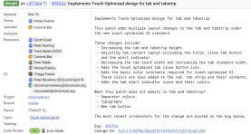Touch Optimised references (New)