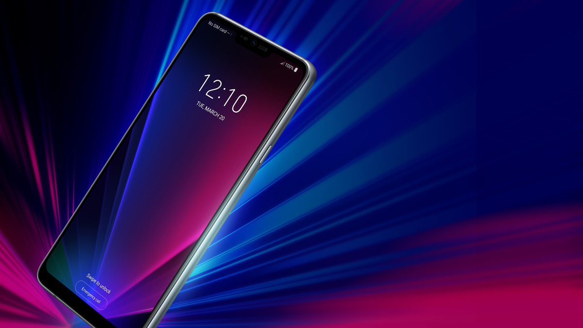 LG G7 ThinQ new render leak confirms the presence of iPhone X-like notch