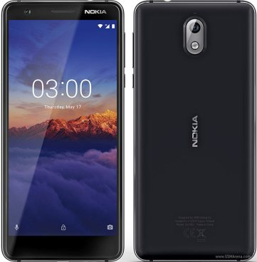 Nokia 3.1 - Front & back