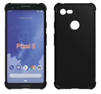 Pixel 3 - TPU Case Render (Black)