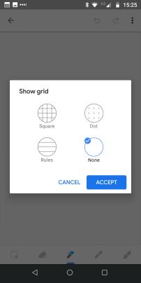 Keep Grid Options