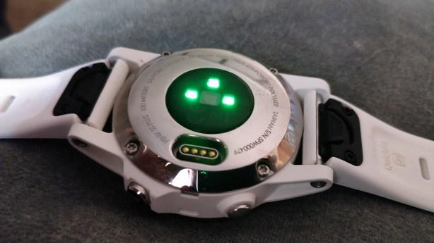 Fenix 5S Plus HR Sensor