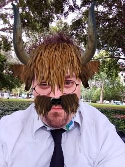 A Bull Selfie