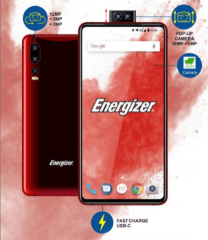 Energiser Device Red