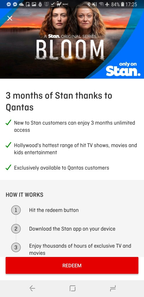 Free 3 Month STAN Trial for Qantas Customers - Ausdroid