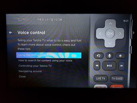 Remote Voice Control - remote - Screenshot 1