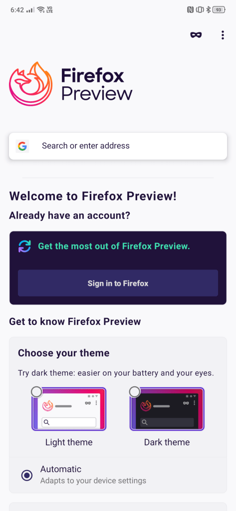 Mozilla's re-written, all new, next generation Firefox for