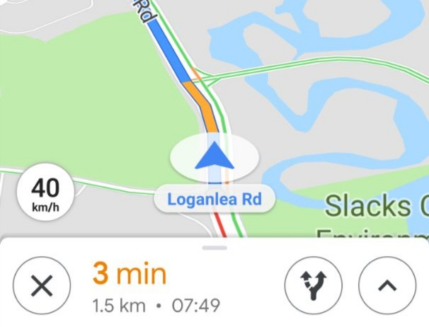 Google Maps adds on-screen speedometer