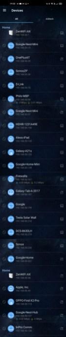 Asus App device list