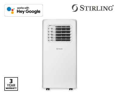 1.9kW Portable Air Conditioner with Wi-Fi