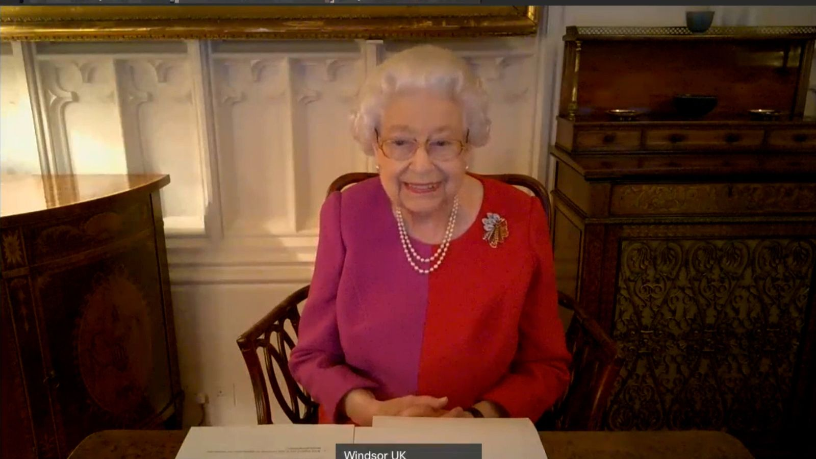 How Queen Elizabeth Is Delivering Her Christmas Message