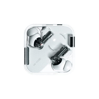 ear (1) case and earbuds (transparent background)