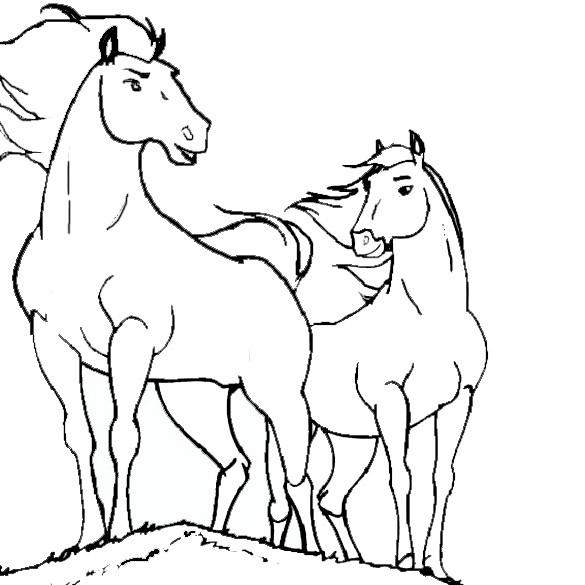Bilder Zum Ausmalen Pferde 12 Bilder Zum Ausmalen