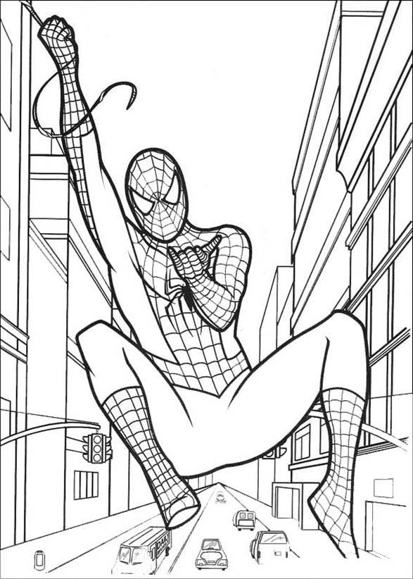 Bilder Zum Ausmalen Spiderman 7 Bilder Zum Ausmalen