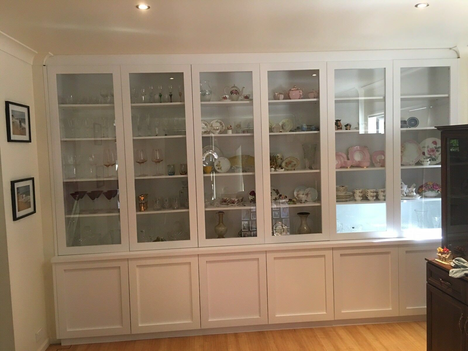 Aus Made Morisset Wall Unit Display Unit Bookcase Bulk Head Shaker Doors