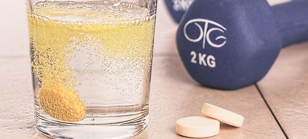Brausetabletten mit Magnesium