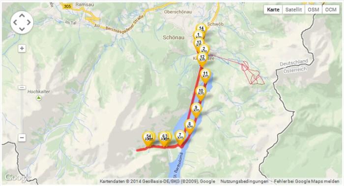 GPS-Karte-Watzmann-Eiskapel