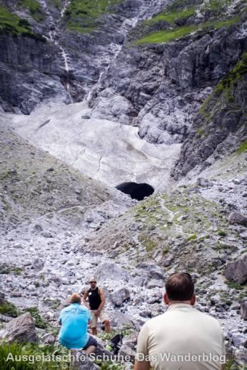 Gletscher an der Watzmann-Ostwand
