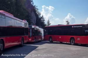 Busabfahrt Kehlsteinhaus