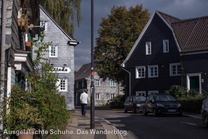 Der historischeer Ortskern von Leichlingen