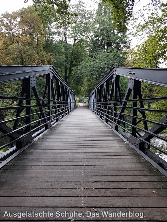 Wanderweg Brücke