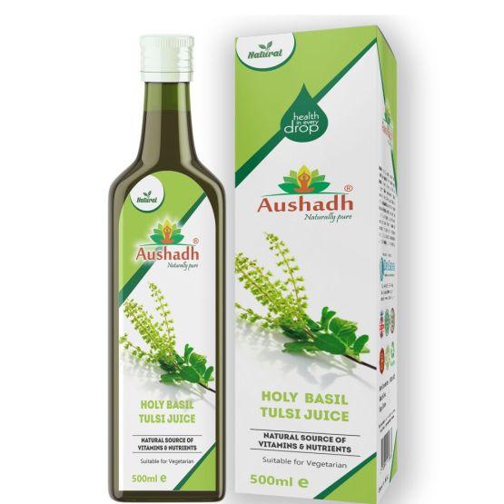 Holy Basil Tulsi Juice 500mL