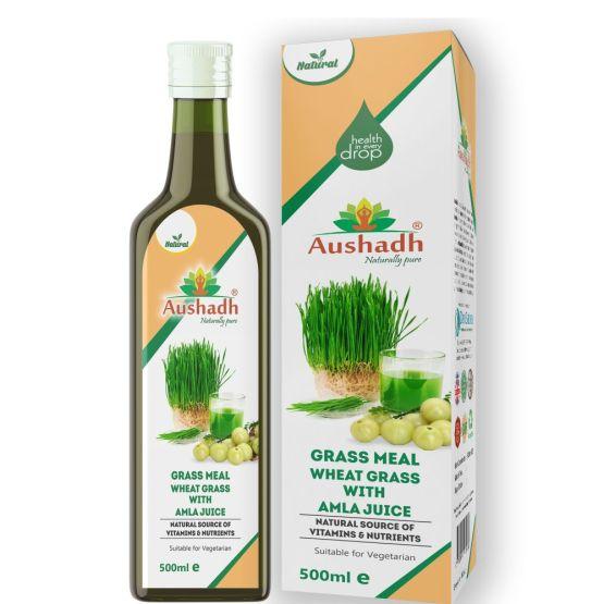 Wheatgrass Amla Juice 500mL