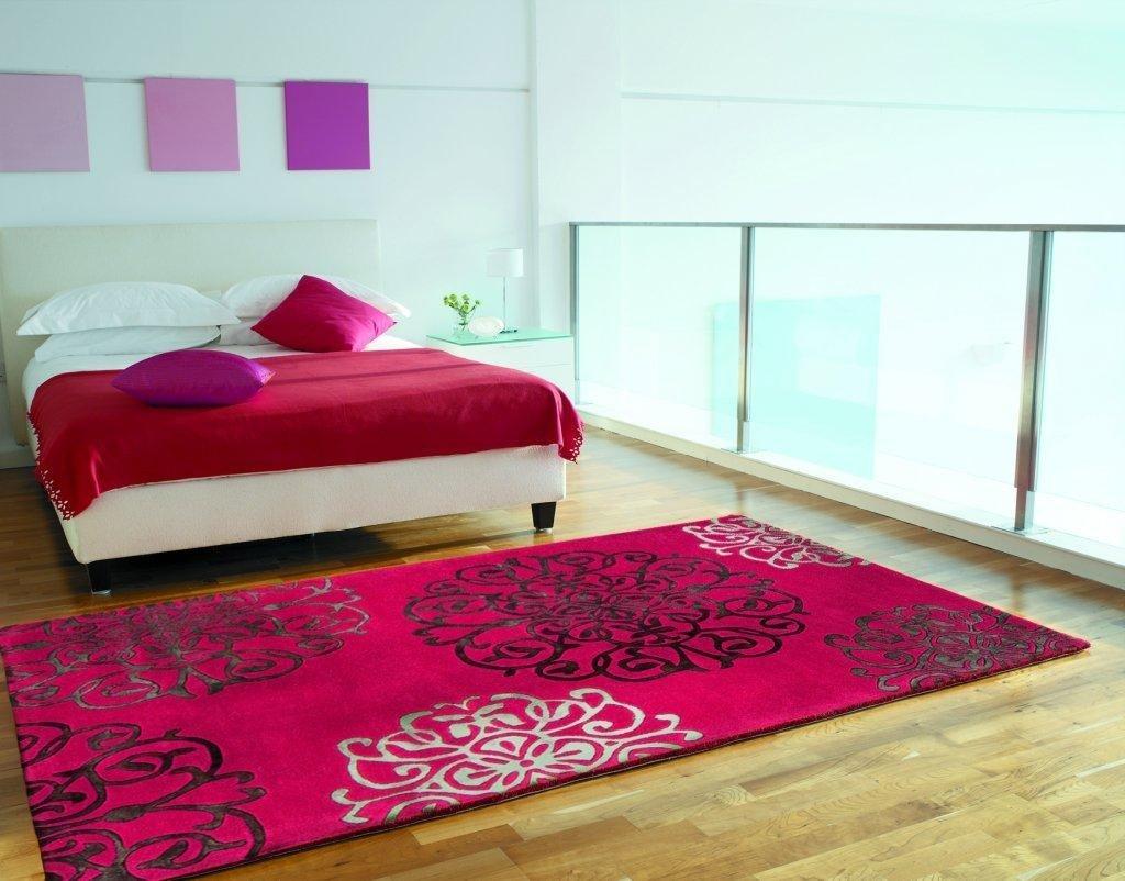 tapis design salon pas cher tapis rose fushia tapis noir. Black Bedroom Furniture Sets. Home Design Ideas
