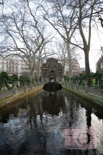 Medici Fountain at Luxembourg Gardens