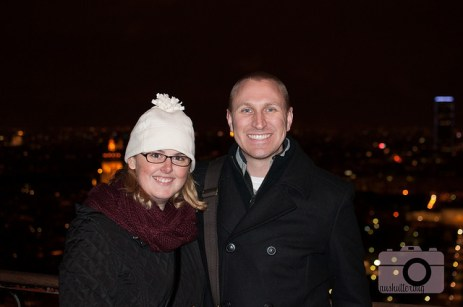 Josh and I on the Eiffel Tower