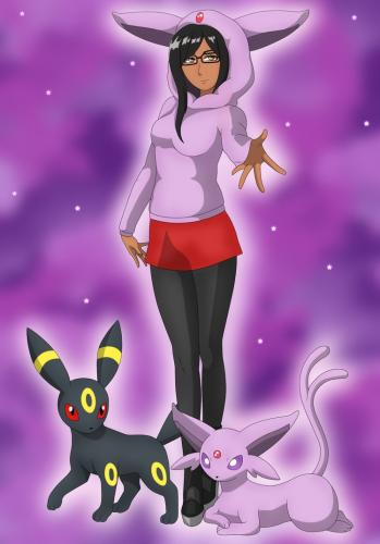 Espeon and Umbreon - Twitch Espeontsuki - AuSLove.TV