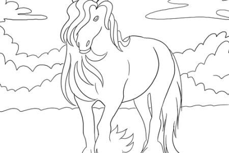 Best Home Design » pferd vorlage ausdrucken