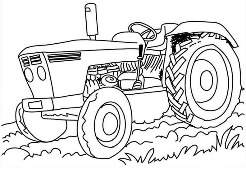 traktor ausmalbilder  die besten traktor ausmalbilder