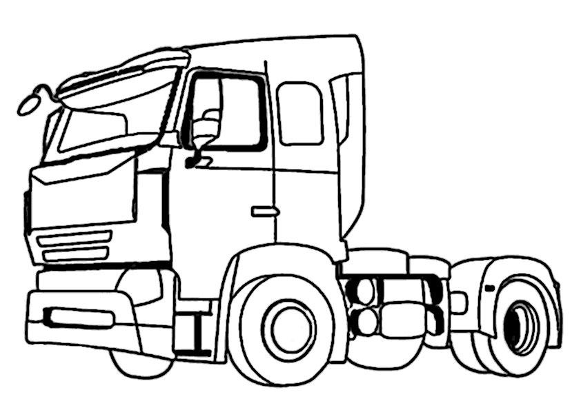 Pretty Scania Gratis Malvorlage In Lastwagen Transportmittel