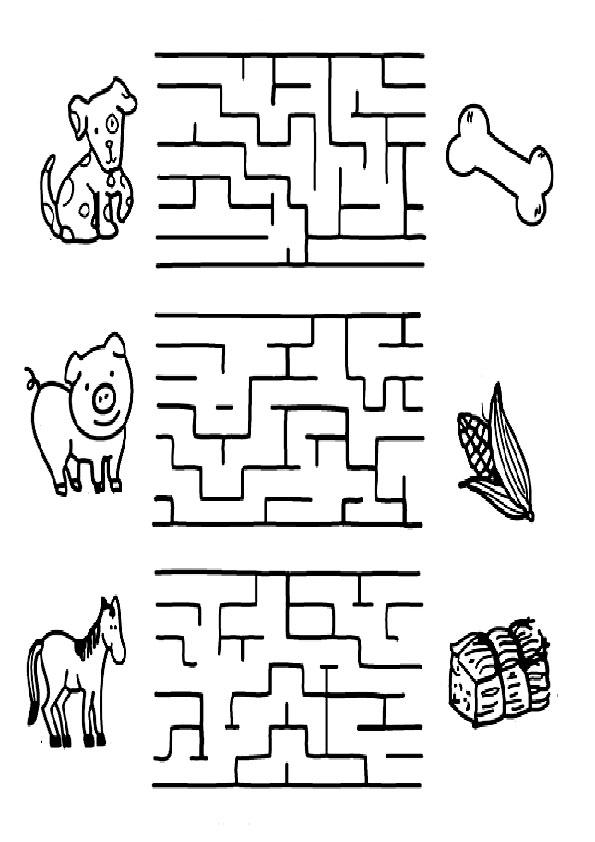 Ausmalbilder Kinder Labyrinthe 6 Ausmalbilder Fr Kinder
