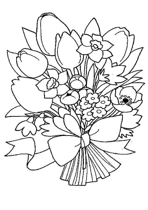 Ausmalbilder Blumen 10 Ausmalbilder Kostenlos